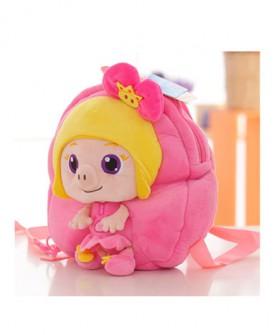 宝宝双肩毛绒书包 可爱背包