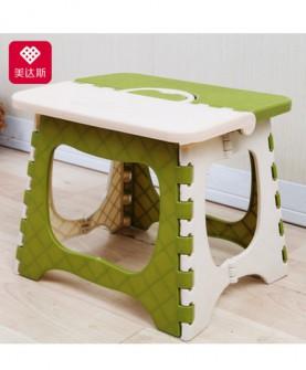 加厚塑料折叠凳子儿童凳子手提式火车小凳子成人矮凳小板凳