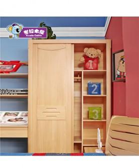 简约现代实木移门衣柜