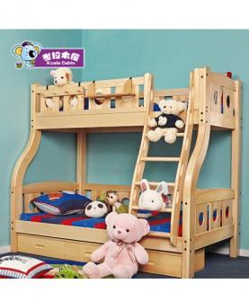 儿童床实木子母床高低床上下铺高架组合床