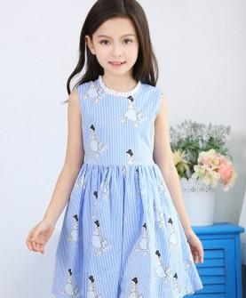 女童连衣裙夏装2017新款