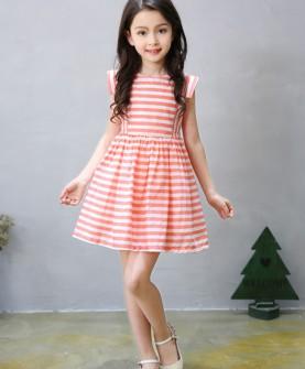 童装女童连衣裙夏装2017新款