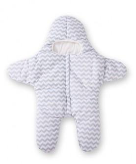婴儿海星睡袋秋冬款加厚