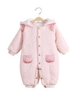 婴儿连体衣服加厚