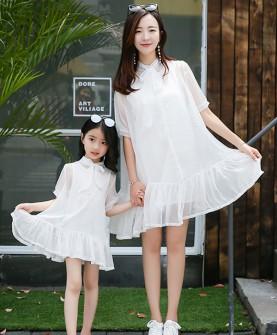 亲子装夏装母女裙子夏季