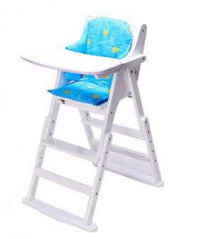 安装便携式儿童吃饭餐桌椅宝宝实木婴儿餐椅多功能bb凳可折叠