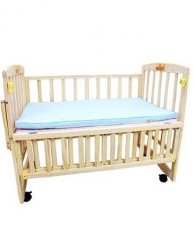 婴儿床 无油漆可变书桌儿童床实木宝宝床