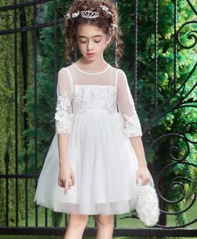 花童婚礼蓬蓬裙女童长裙