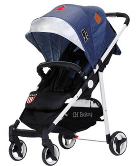 chbaby婴儿推车超轻便可平躺折叠加宽宝宝手推车儿童推车bb伞车