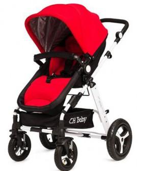 chbaby婴儿车高景观儿童手推车轻便夏季可坐平躺宝宝伞车婴儿推车
