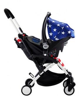 chbaby婴儿推车可坐躺宝宝高景观手推车轻便儿童伞车