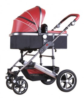 高景观婴儿推车可坐可躺避震双向冬夏两用bb宝宝童车手推车