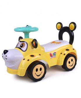 儿童扭扭车带音乐静音轮宝宝滑行玩具妞妞车摇摆溜溜车3-5岁