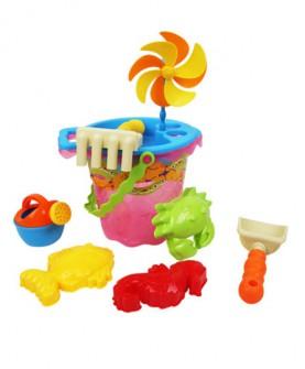 儿童沙滩玩具桶套装大号宝宝玩沙子挖沙漏铲子工具小桶玩具