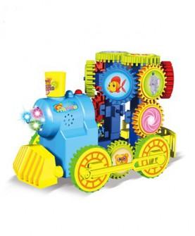 百变积木儿童遥控玩具男孩拼装汽车 益智拼插模型4-5-6岁以上