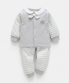 婴儿棉服秋冬季新生儿棉衣套装衣服儿童外套男女宝宝冬装薄款棉袄