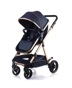 婴儿推车高景观婴儿推车可躺可坐宝宝车可折叠易携带bb推车
