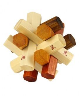 孔明锁 鲁班锁套装小学生成人九连环益智力早教玩具