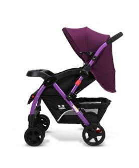 高景观婴儿手推车可坐躺折叠双向加宽加长加大宝宝避震冬夏季