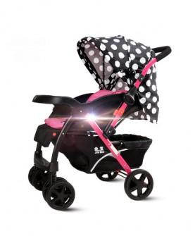 婴儿推车高景观可坐可躺折叠避震双向四轮宝宝冬夏季两用推车