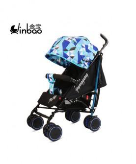 婴儿推车可坐可躺折叠伞车冬夏季两用宝宝车新生婴儿四轮便携