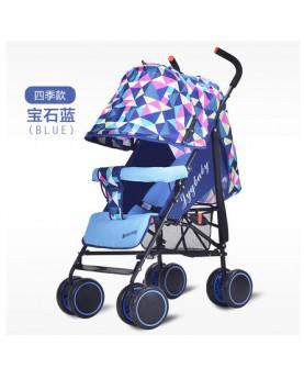 婴儿推车超轻便携式伞车可坐可躺折叠夏季四轮宝宝儿童手推车