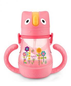 babisafe吸管水杯儿童训练杯宝宝学饮杯吸管杯240ml