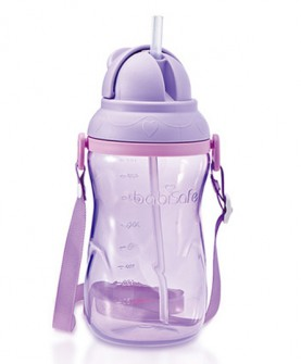吸管杯可爱运动儿童水杯 婴儿学饮杯吸水杯幼儿喝水杯子