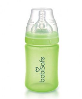 宽口奶瓶新生儿防胀气安全玻璃奶瓶 婴儿防爆奶瓶180ml