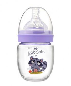 玻璃奶瓶新生儿奶瓶婴幼儿果汁瓶120ml