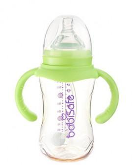 婴儿用品ppsu宽口径奶瓶宝宝吸管奶瓶300ml/240ml耐高温