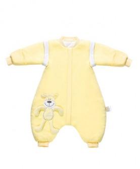 婴儿睡袋分腿秋冬加厚儿童防踢被