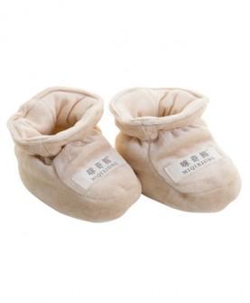 婴儿脚套保暖春秋薄款纯棉