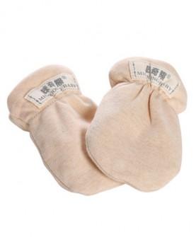 婴儿手套 防抓脸新生儿护手套纯棉透气