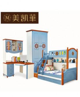 地中海卧室成套家具套装组合