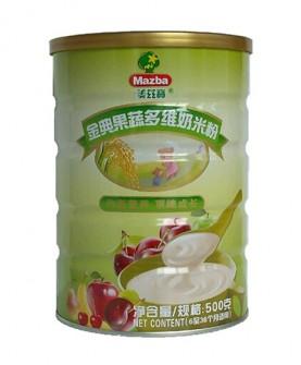 金典果蔬多维奶米粉