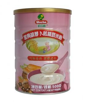 金典胡萝卜核桃奶米粉