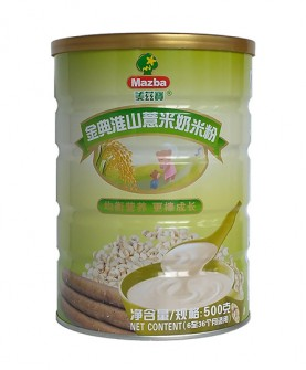 金典淮山薏米奶米粉