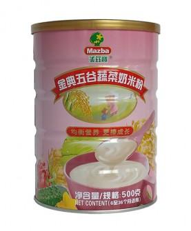 金典五谷蔬菜奶米粉