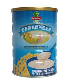 金典原味营养奶米粉