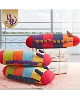 家纺 毛毛虫创意枕头卡通抱枕 靠枕