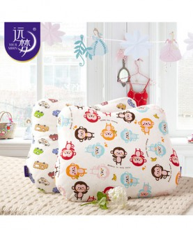 天然乳胶枕 蝶形乐宝乳胶枕婴幼儿童乳胶枕宝宝枕芯枕头