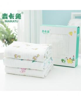 婴儿浴巾纯棉纱布新生儿超柔吸水宝宝盖毯儿童洗澡巾被子