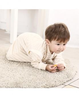 春夏季彩棉宝宝睡袋薄款 儿童防踢被