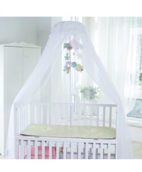 宫廷婴儿床带支架儿童床加密宝宝幼儿园蚊帐