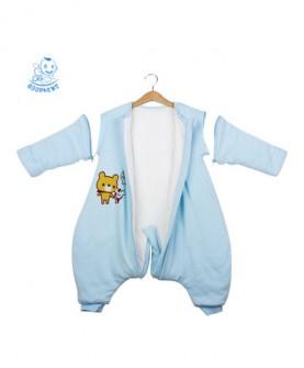 婴儿分腿睡袋秋冬加厚 新生儿中大童婴幼儿宝宝春秋季儿童防踢被