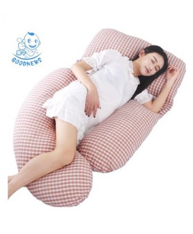 孕妇枕头护腰侧睡枕 U型枕抱枕