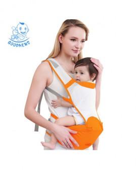 婴儿背带腰凳夏季前抱式多功能四季通用