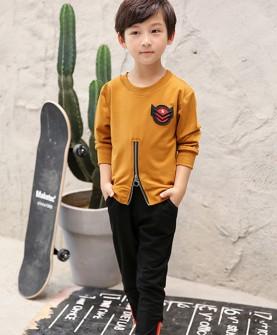 男童套装秋款2017新款时尚两件套