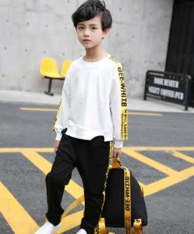 男童秋装套装2017新款